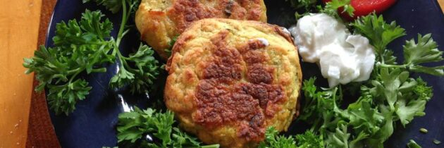 Kuku-ye Sibzamini (Potato Patties)