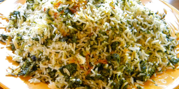 Sabzi Polow (Herbed Rice)