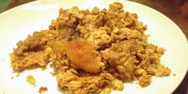 Tangy Apple Crisp