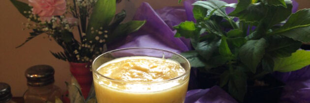 Pineapple Ginger Smoothies